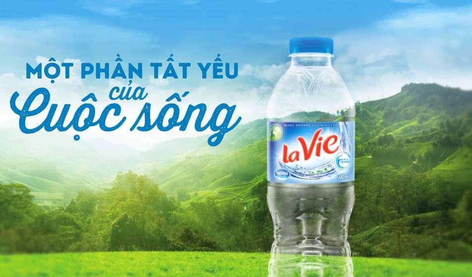 Nước khoáng LaVie nước khoáng lavie - nuoc khoang lavie - Nước khoáng Lavie thích hợp sử dụng uống hàng ngày