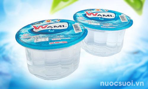 Nước suối ly Wami 140ml