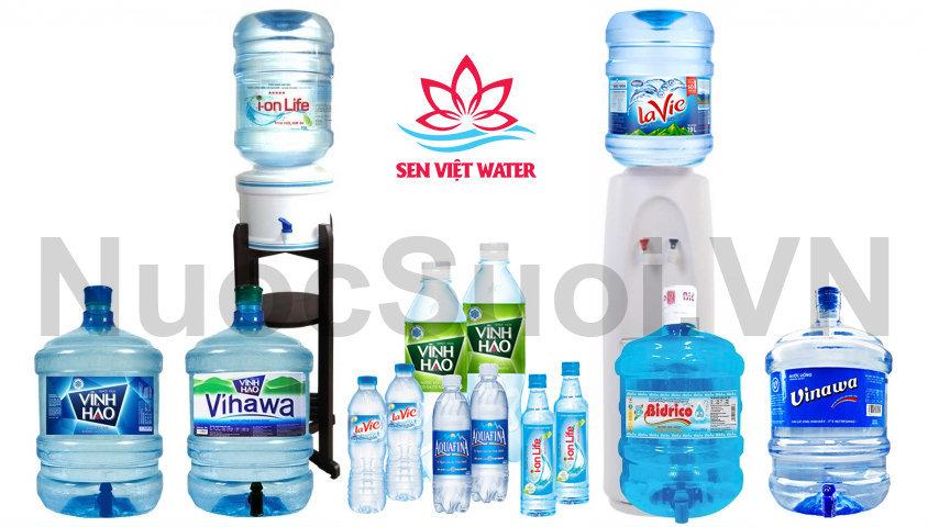 Giao nước tận nhà Sen Việt Water
