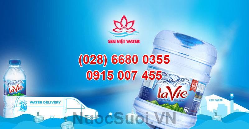 Nước khoáng Lavie - tìm hiểu và đặt mua