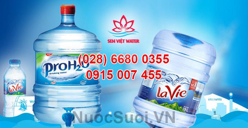 Nước khoáng Lavie có vòi proh2o