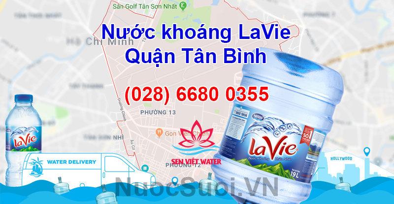Nước khoáng Lavie quận Tân Bình