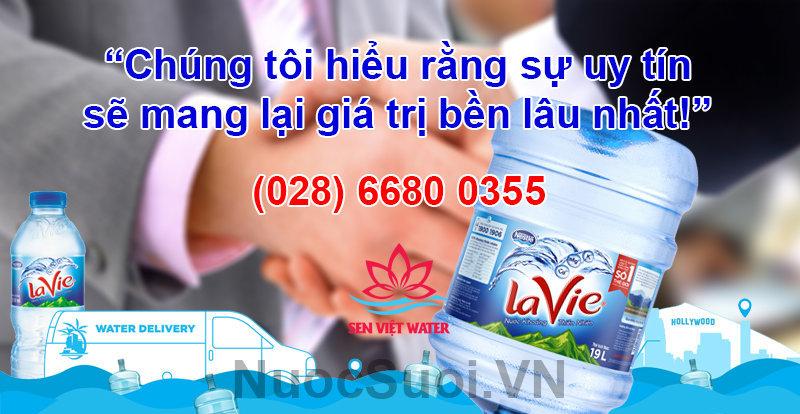 Đại lý nước khoáng Lavie Sen Việt nước khoáng lavie - nuoc khoang lavie uy tin - Nước khoáng Lavie quận 1