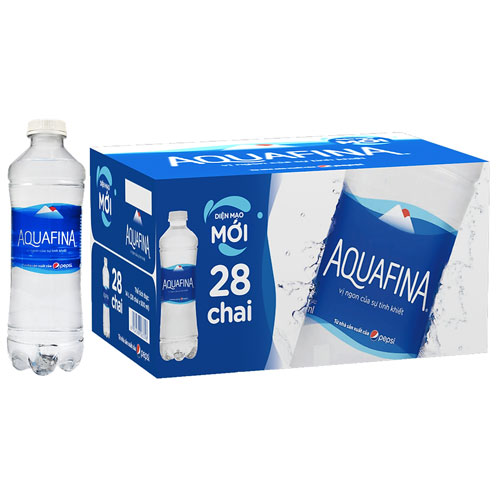 nước aquafina 500ml (thùng 28 chai) 4