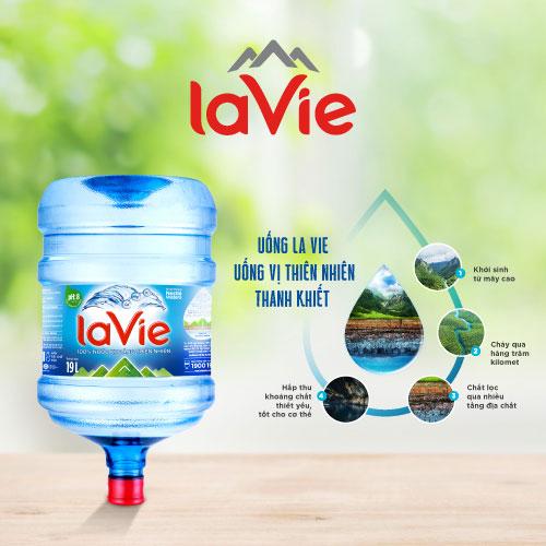 nước khoáng lavie 20l (bình 19 lít) 4