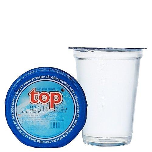 nước suối ly top 230ml (thùng 48 ly) 1