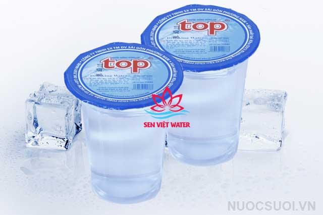 nước suối ly top 230ml