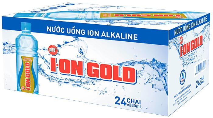 nước ion gold 250ml (thùng 24 chai) 4