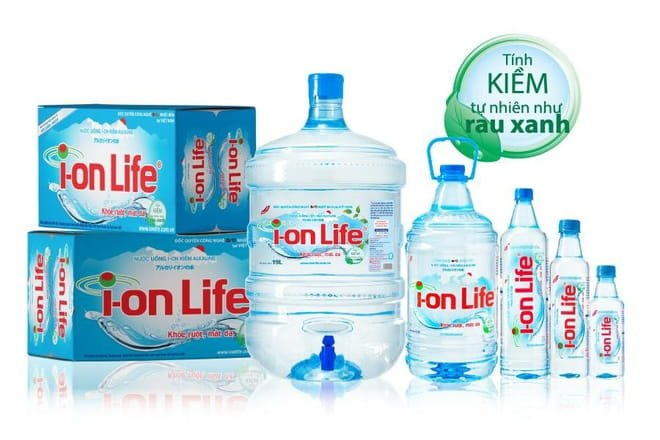 nước ion life có tính kiềm tự nhiên